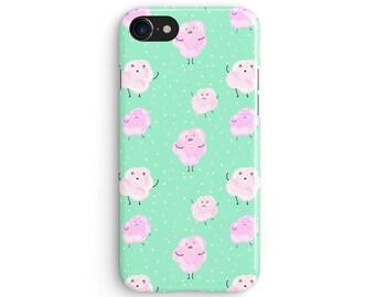 Kawaii marshmallow - iPhone 7 case, Samsung Galaxy S7 case, iPhone 6, iPhone 7 plus, iPhone SE, iPhone 5S, 1C032A