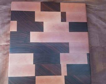 Maple & Walnut Butcher Block - Cutting Board