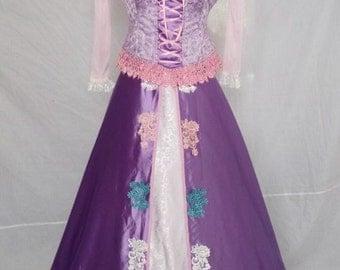 Tangled Rapunzel Princess Rapunzel Dress Tangled Fairytale Cosplay Costumes