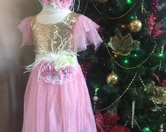 Golden Pink Dress