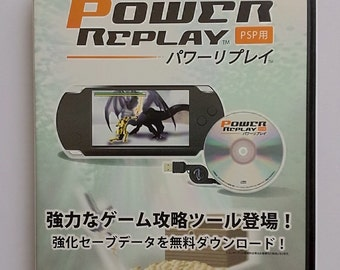 Sony PSP Power Replay Cheat CD *Japanese edition*