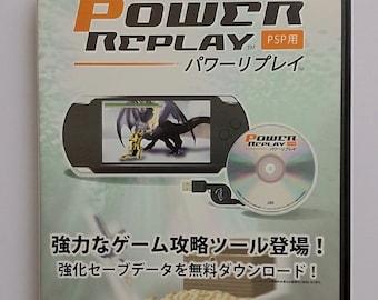 Sony PSP Power Replay Cheat CD *Japanese edition*