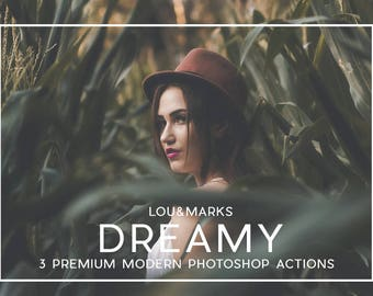 Professional Dreamy Photoshop Actions Professional Photo Editing for Portraits, Newborns, Weddings By LouMarksPhoto