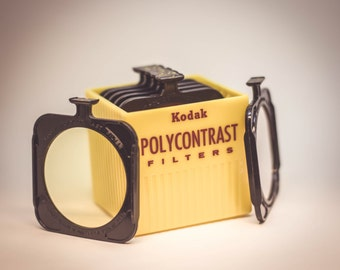Kodak Polycontrast Filters- Model A 1960s