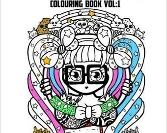 Nicky Rockets Colouring Book Vol 1
