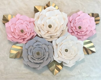 Paper Flower Backdrop - Customize your Order!!!!
