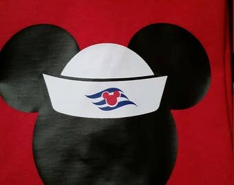 Mickey Disney Cruise T-Shirt (Many Sizes and Colors)