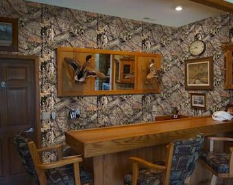 Peel and Stick Camo Vinyl Wallpaper in Mossy Oak Break-Up Country Camo Pattern by Mossy Oak Graphics
