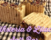 Wisteria and Lilac Salt Bar soap
