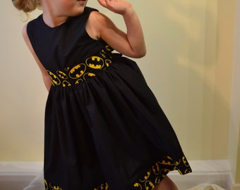 Batman/Batgirl Girls Party Dress
