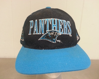 Vintage 90's Carolina Panthers Sport Specialties Snap Back Dad Hat NFL Football Cam Newton