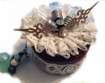 steampunk jewelry box purse