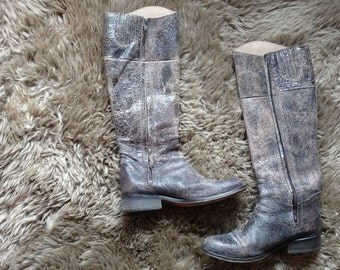 Vintage Leather Steve Madden  Riding Boots