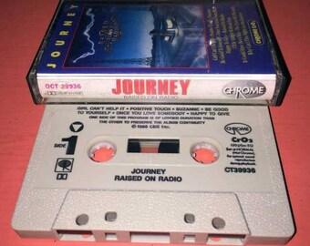 Journey Raised on Radio Cassette Tape