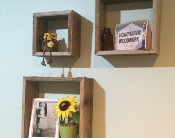 Rustic Shadow Box Set pallet stock