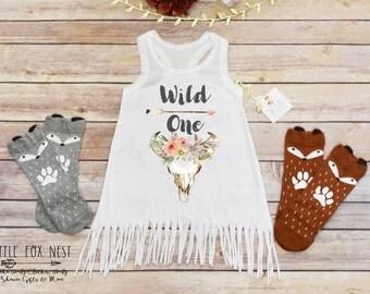 Wild One, Boho Baby Clothes, Boho Baby Girl, Baby Girl Clothes, Baby Girl Dress, Toddler Dress, Gypsy Soul Dress