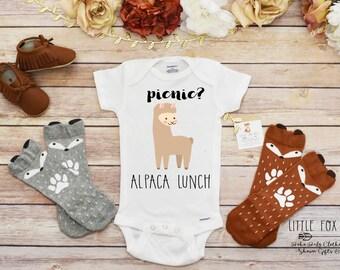 Funny Boy Shirt, Alpaca Onesie®, Llama Shirt, Boho Baby Clothes, Funny Onesie®, Baby Boy Clothes, Baby Shower Gift, Cute Baby Clothes