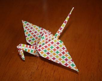 20 Origami Crane Wedding Favors Bright Colors BC1/8