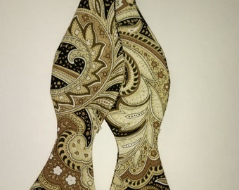 Paisley Self Tie Bow Ties