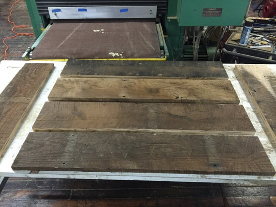 reclaimed wood table top kits diy made to order