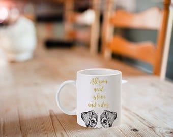 All You Need is Love and a Dog, Mug