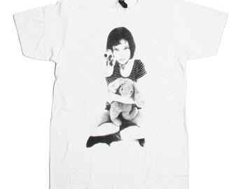 Leon The Professional Mathilda T-Shirt - Hit Man Jean Reno Natalie Portman Gary Oldman Cult Cinema 1994 Tee Shirt - Mens Womens Top