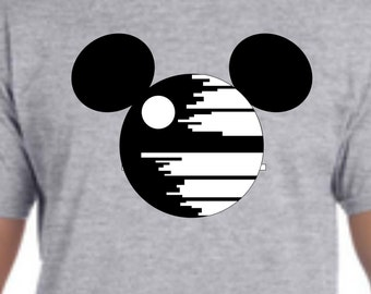 Death Star Disney Shirt, Star Wars Disney shirt, Custom Disney Shirt, Womens Star Wars Shirt, Mens Star Wars Shirt, Kids Star Wars Shirt