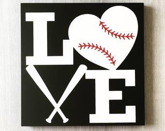 Baseball Wall Art baseball room decor | etsy