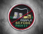 People Before Profit Patch