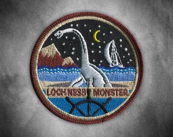 Loch Ness Monster Patch