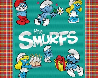 Easy cut and assemble multilayered the smurfs theme SVG Collection 1 - smurfs SVG - Svg Files for Silhouette Cameo or Cricut