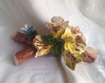 Capodimonte Yellow Lily
