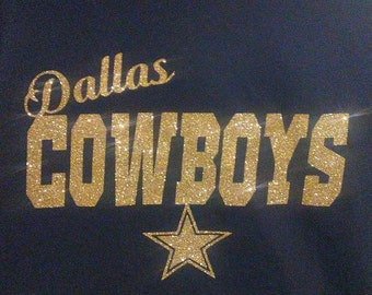 Glitter Dallas Cowboy Shirt