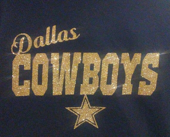 Glitter Dallas Cowboy Shirt