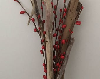 Driftwood and Pipberry Vase Filler