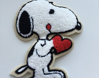 Super Big Snoopy Patch  (14.5cm x 19 cm)