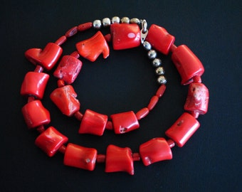 Necklace ~ Coral