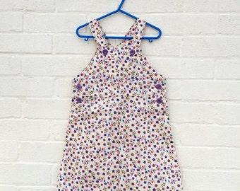 Retro style Pinafore dress  (handmade)
