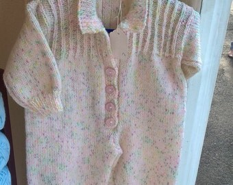 Knitted Romper Suit All in One