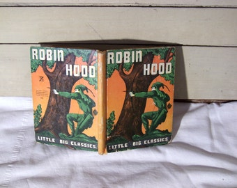 Robin Hood, a Little Big Classics, by H.G. Nicholas, 1938 first edition