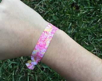 Lilly Pulitzer Inspired Hair Tie Pack of 8