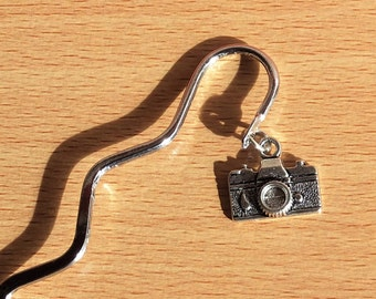 Digital Camera bookmark, Father's Day gift, photographer gift, unisex gift, profession or hobby gift