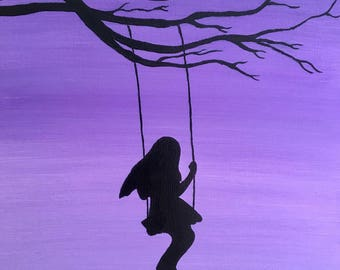 Swing painting | Etsy