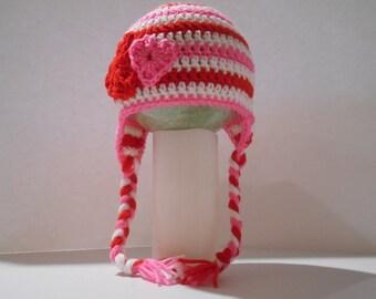 Valentine's Day Crochet Hat