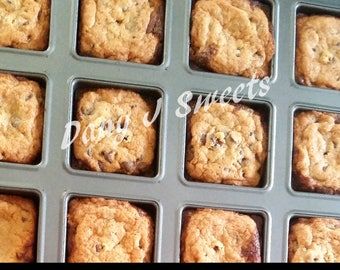 Brownie & Chocolate Chip Cookie Brookies *Free Shipping*