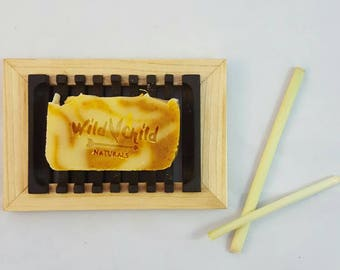 All Natural Handmade Summer Soap 3 - 4 oz. bar Scented with oils undesirable to mosquitos. Chemical Free. Vegan.