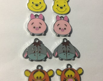 Winnie the Pooh Charms