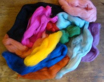 merino wool scraps, felting british wool, merino off cuts, needle felting wool, waste wool off cuts, wool scrap dreads, spinning wool tops