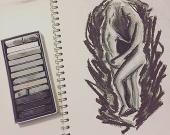 Love on Fire - Original Artwork