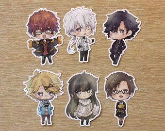 Chibi Mystic Messenger Stickers
